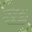 Being grateful to God changes our perspective! We can change the way we think about our circumstances no matter how wonderful or how challenging by changing our focus. What are you thankful for today?