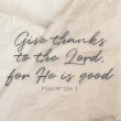 God is good. All the time. When our situation is good, He is good. When our circumstances are terrible, confusing, and painful, He is still good